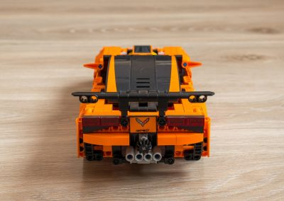 Lego Technic Chevrolet Corvette Back View