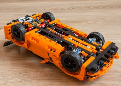 Lego Technic Chevrolet Corvette Bottom View