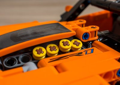 Lego Chevrolet Corvette Engine