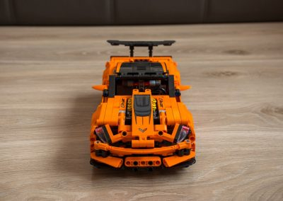 Lego Chevrolet Corvette Front View