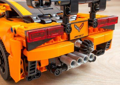 Lego Chevrolet Corvette Rear Lights