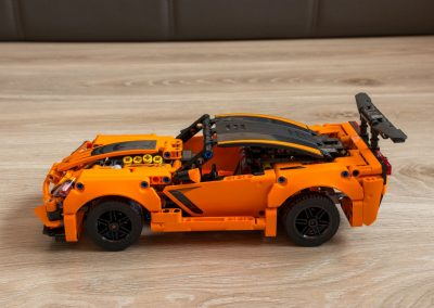 Lego Technic Chevrolet Corvette ZR1 Side View