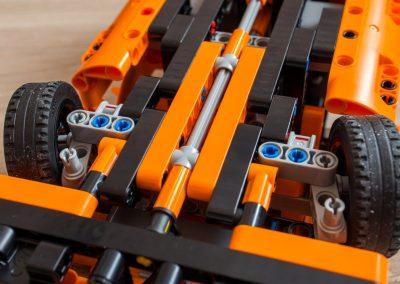 Lego Technic Chevrolet Corvette ZR1 Steering