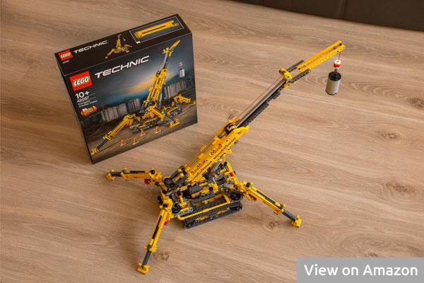 Lego Technic Compact Crawler Crane Box