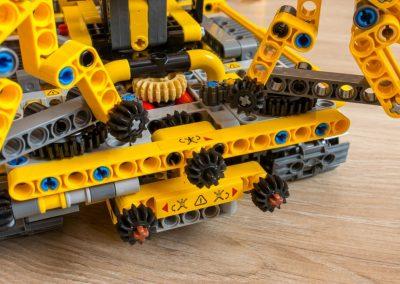 Lego Technic Compact Crawler Crane Superstructure