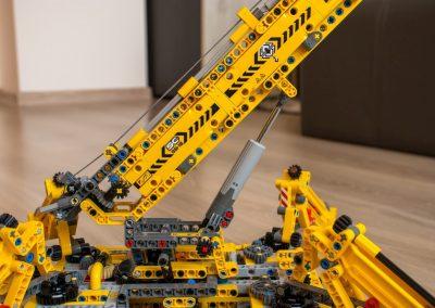 Lego Technic Compact Crane Extendable Boom