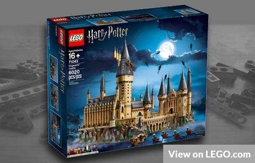 Big Harry Potter Lego Model
