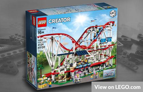 Lego Big Roller Coaster