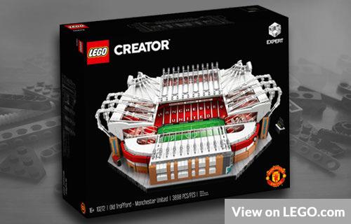 Lego Creator Old Trafford Football Stadium