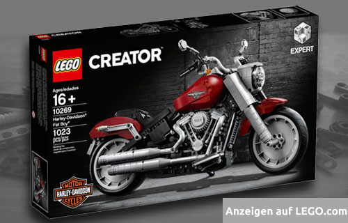 Lego Creator Harley-Davidson