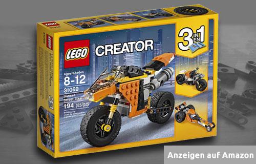Lego Straßenrennmaschine