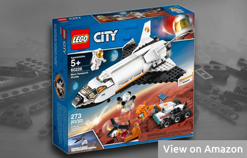 Lego City Mars Shuttle