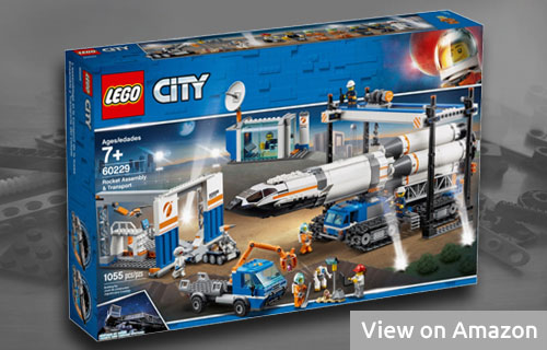 Lego City Rocket Transport