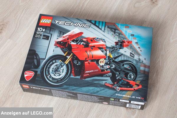 Lego Technic Ducati Motorrad Box