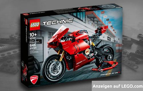 Lego Technic Ducati Motorrad