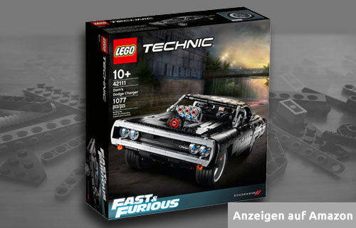 Lego Technic Schwartz Dodge