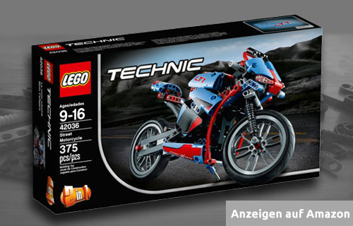 Lego Technic Straßenmotorrad