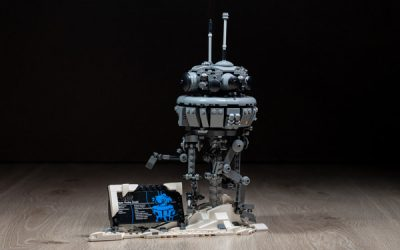 Lego Star Wars Imperial Probe Droid 75306 Review